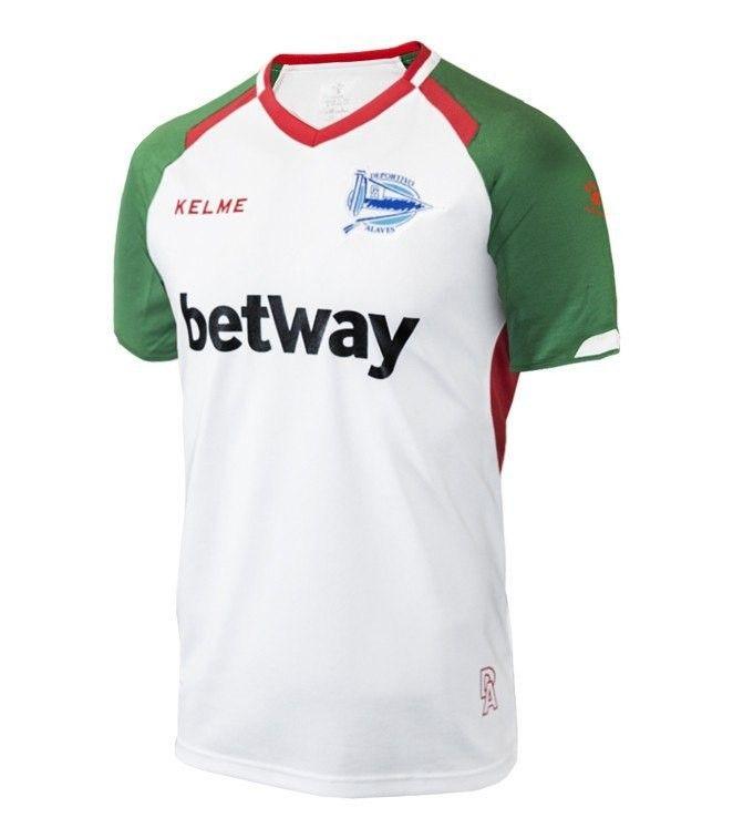 281e0f27f3 Alaves 18/19 away Camisas De Futebol, Camisas Casuais, Camisa De Polo,
