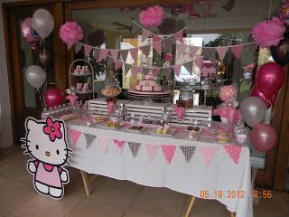 Cumples Tematicos Candy Bar Cumplea 241 Os Hello Kitty
