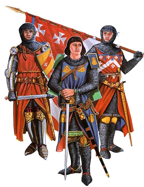 """• William Fitzralph, c. 1320 • Robert de Setvans, c. 1306 • Maurice de Berkeley"", Christopher Rothero"