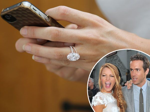 Blake Lively S Wedding Ring Cost Ryan Reynolds 2 000