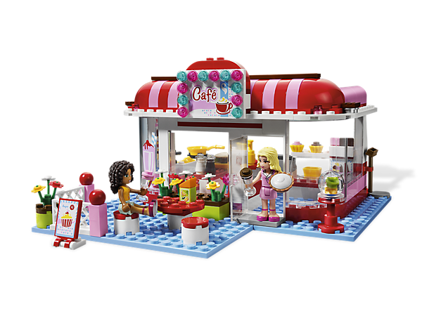 Build a hip hangout for the LEGO® Friends with a side of fresh-baked ...