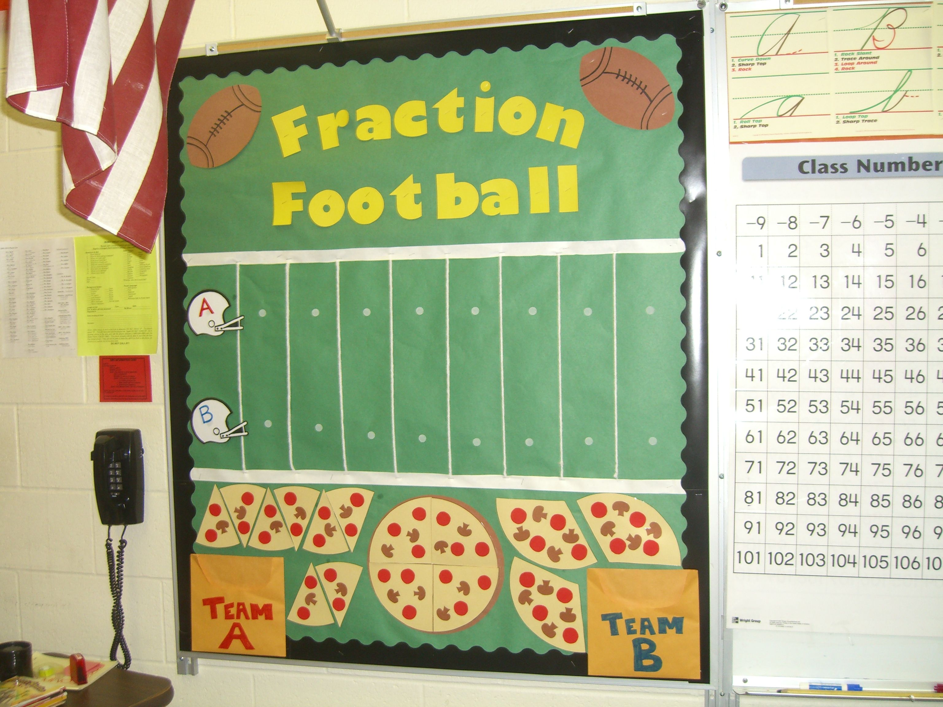2nd Grade Math Game I Made This Around The Superbowl It Was A Great Review Game Summer School Fun 2nd Grade Math Games Sports Theme Classroom [ 2304 x 3072 Pixel ]