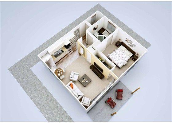 1 Bedroom Granny Flat Garage Conversion Granny Flat Small House Inspiration Granny Flat