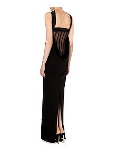 tom ford strapless silksatin corset gown with images