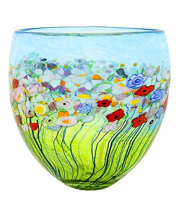 Decorative Blown Glass Bowls Such A Pretty Bowl Glass  Pinterest  Bowls Glass And Glass Art