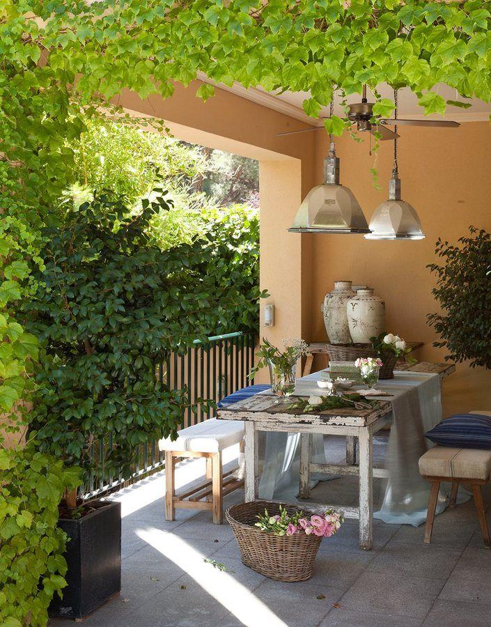 Gu a para dise ar un comedor al aire libre - Comedor de terraza ...