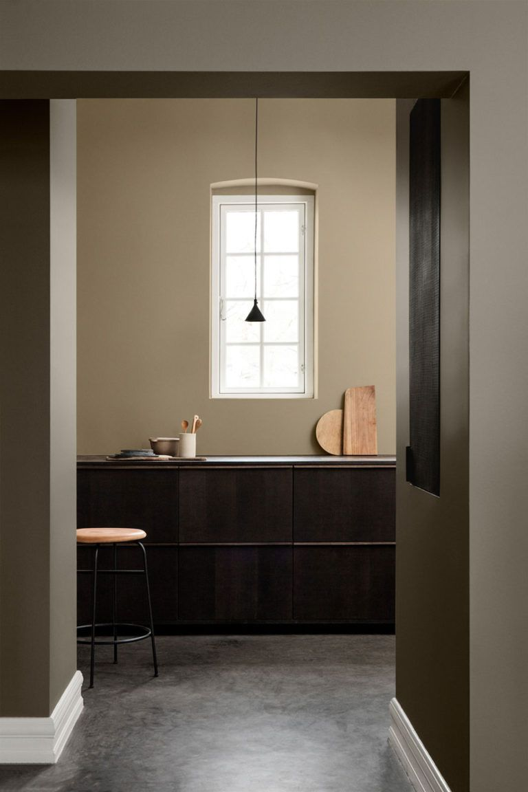 How to use colour in  minimalist home brown and beige paint jotun lady also best interior images rh pinterest