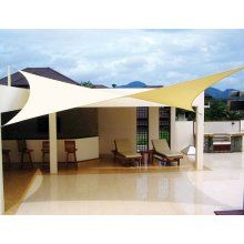 Or This Modern Less Expensive Alternative Coolaroo Shade Sail How Durable Esp Against Wind