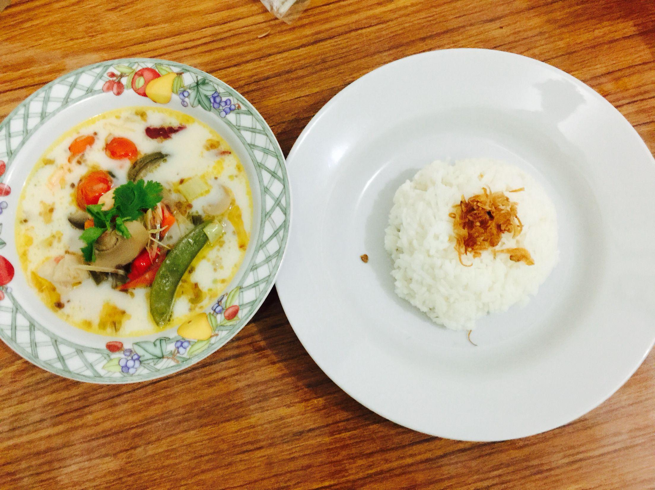 Cooking Tom yum Thailand