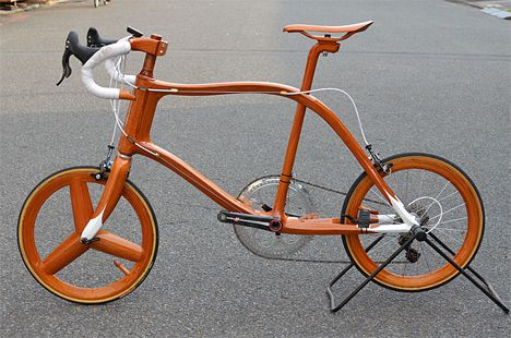 Ship To Shore Bespoke Wooden Bikes Built By A Shipwright Wood