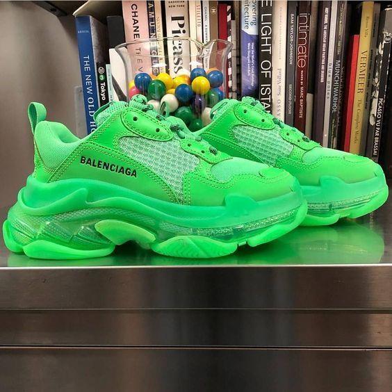 Balenciaga Triple S Trainer 'Neon Green'