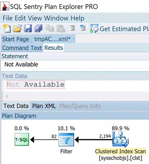 Tip of the Day - Extracting ShowPlan XML from SQL Server