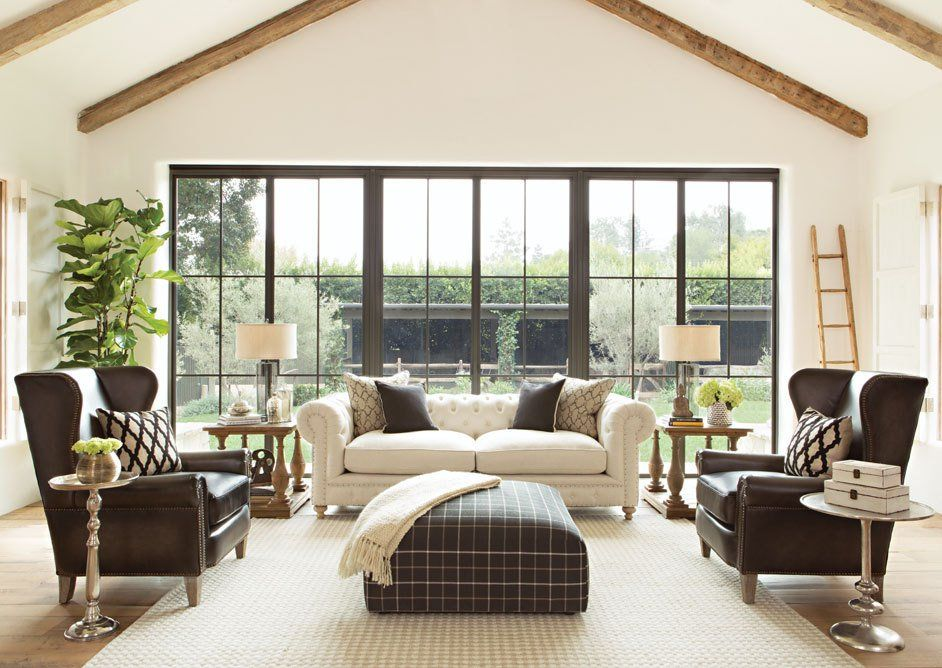 Jeff Lewis SELECTIONS SECTIONAL LIVING ROOM From Walter E. Smithe Furnitureu2026  | Jeff Lewis Design/ Paint | Pinterest | Sectional Living Rooms, Jeff Lewis  And ...