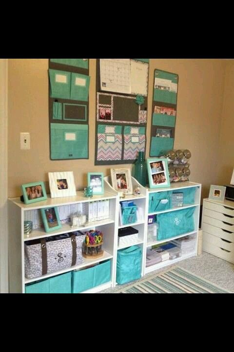 Organize The Craft Room Or Home Office Thirty One Way Hang Up And Family Organizer Are On Wall Can Also Them Doors