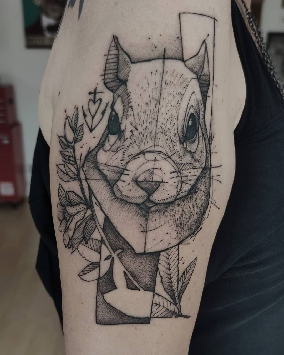 """Gaston Tonus : : : GAX : : : on Instagram: """"#blacktattoo#blackworkers#deutschland#germany#wiesbaden#artof_black#darkartists#tttism#thebesttattooartists#blackworkers_tattoo#grafiktattoo#blackwork#tattoo#blackworkersubmission#tattrx#tattoo#tattooed#tattooartists#tattooedlife#tattootime#tattooaddict#ink#onlyblack#feelfarbig#sketchtattoo"""""""