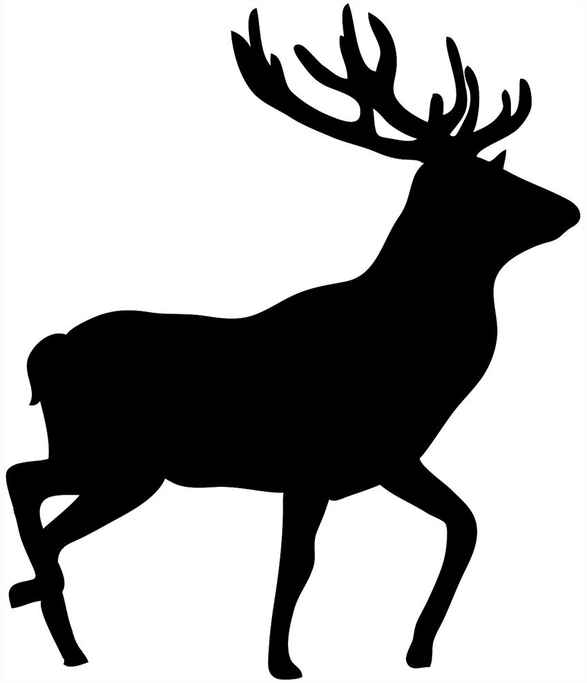 animal silhouette pictures cliparts co woodwork pinterest rh pinterest com deer hunting clipart free deer hunting clip art free