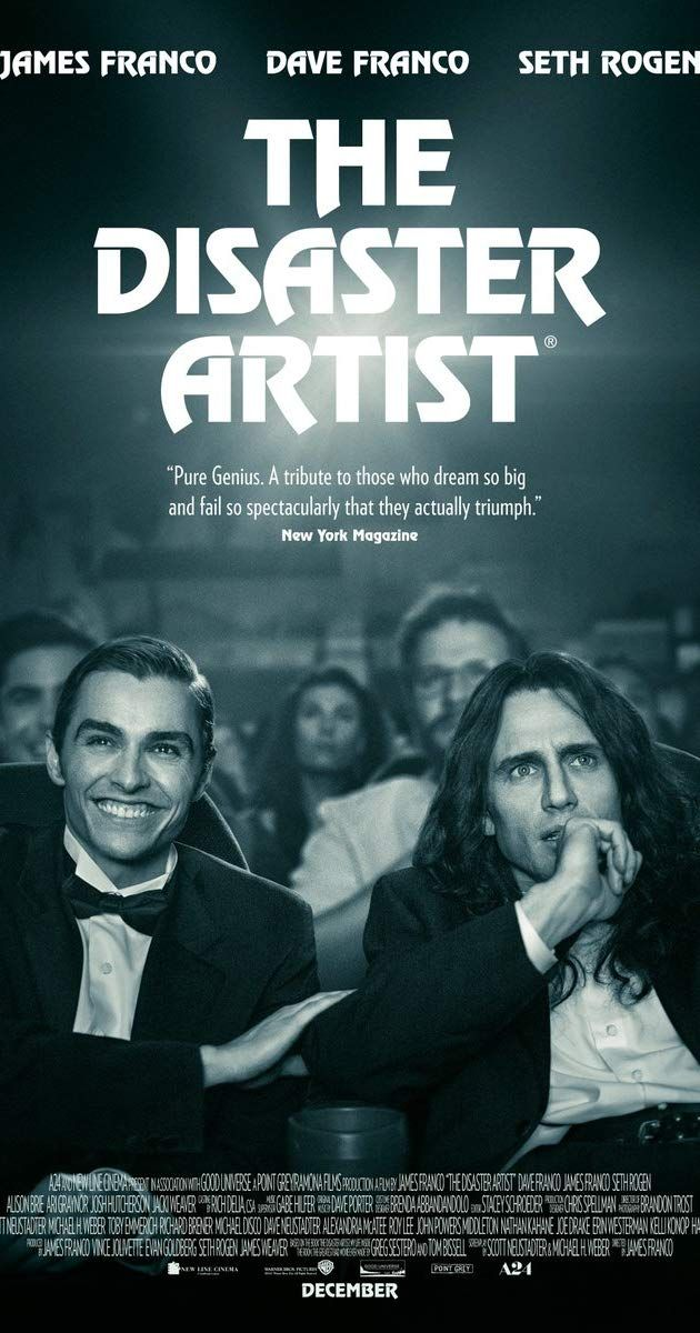 The Disaster Artist (2017) IMDb Filmplakater, Film, Drama