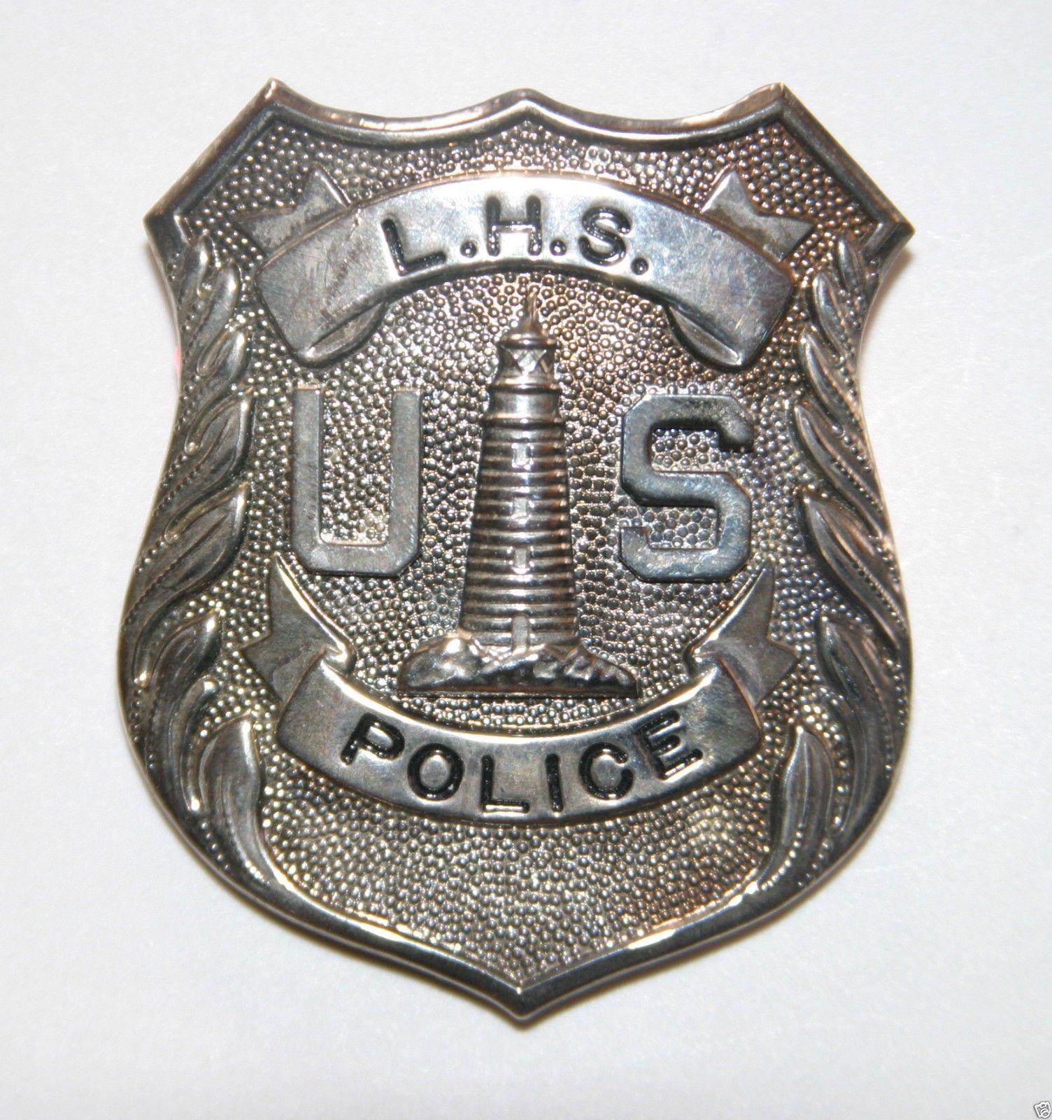 U S Lighthouse Service Police Badge Uslhs Light House