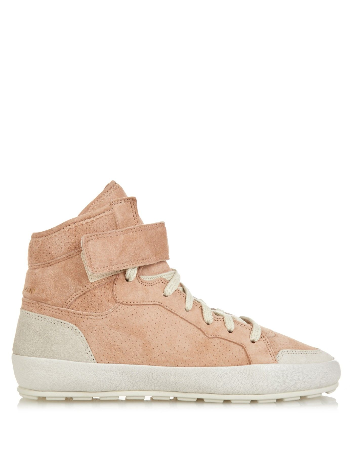 Bessy Hip Hop suede high-top trainers | Isabel Marant | MATCHESFASHION.COM UK
