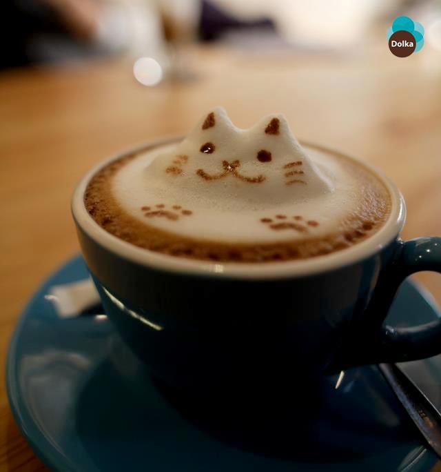 Sonríe, vale la pena ser feliz. #Café #Dolka #México