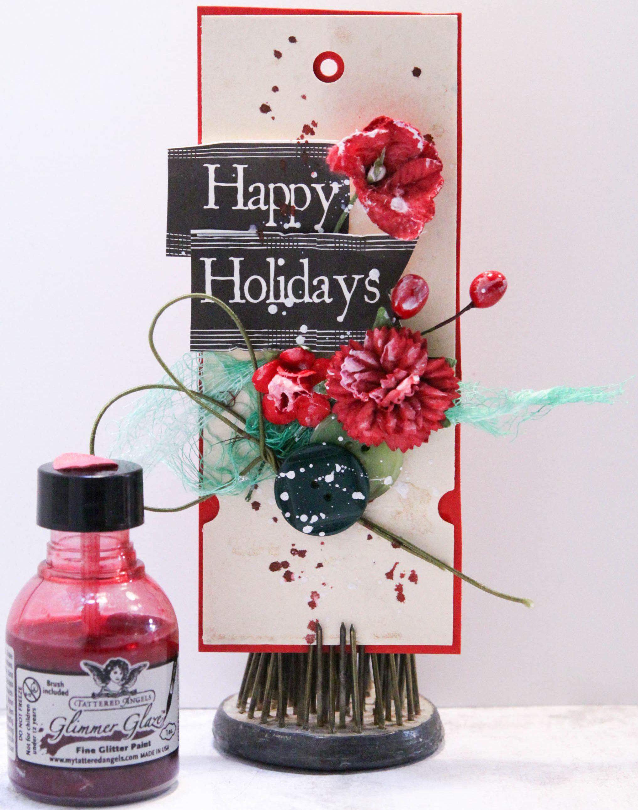 Happy Holiday Gift Tag