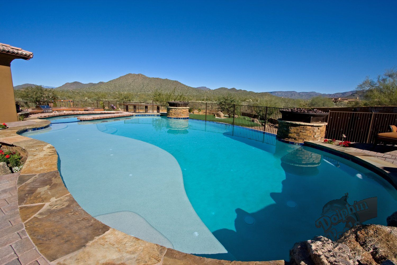 Pools Great Sun Shelf Pool Builders Swimming Pools Outdoor