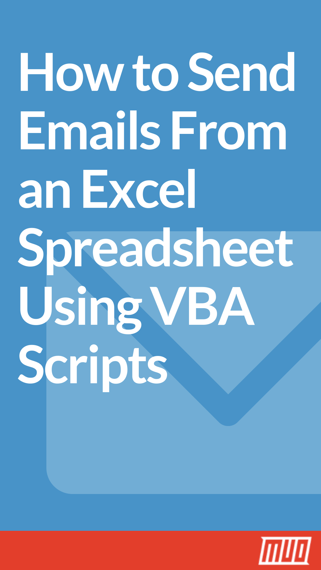 How To Send Emails From An Excel Spreadsheet Using Vba Scripts