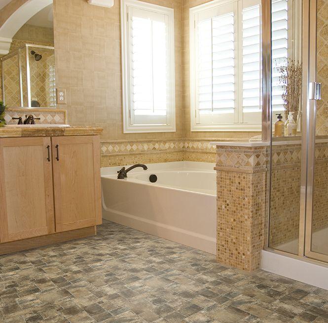 Luxury Bathrooms Manchester manchester 994 | flexitec sheet vinyl tile flooring | ivc us