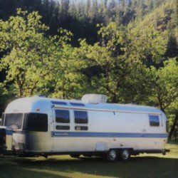 Airstream Side View Along A River Airstream For Sale Airstream Recreational Vehicles