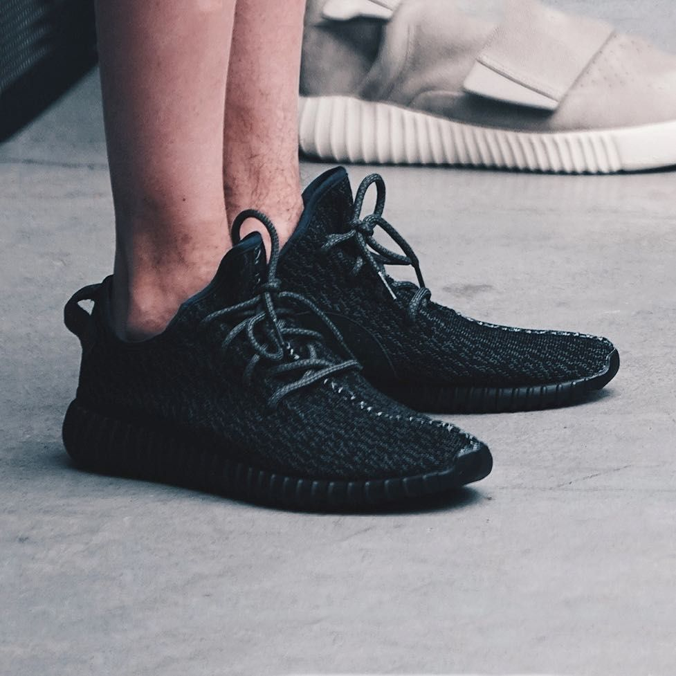 020cb1792ca76 adidas Yeezy Boost 350  Pirate Black