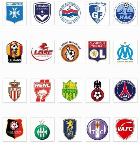 Télécharger logo équipe de foot ligue 1 France L1  e991f6327bf