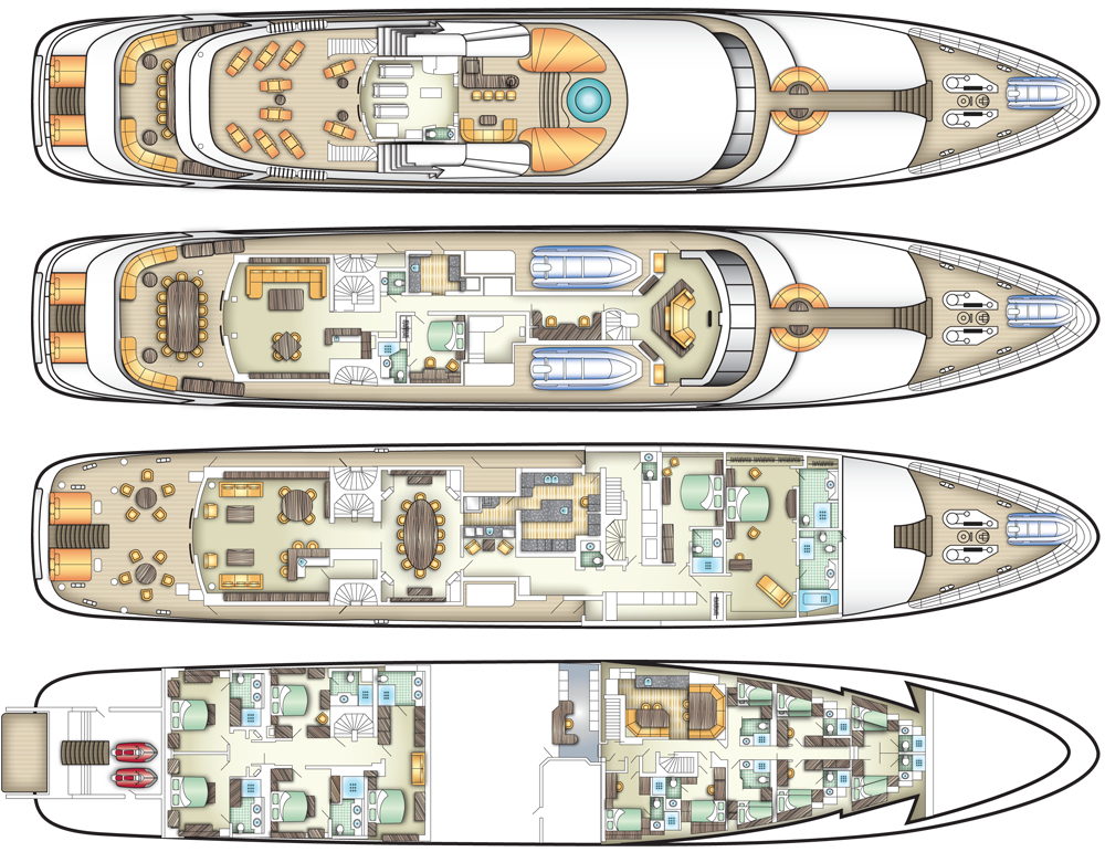 Deck Plans Specifications And Equipment Cruise The