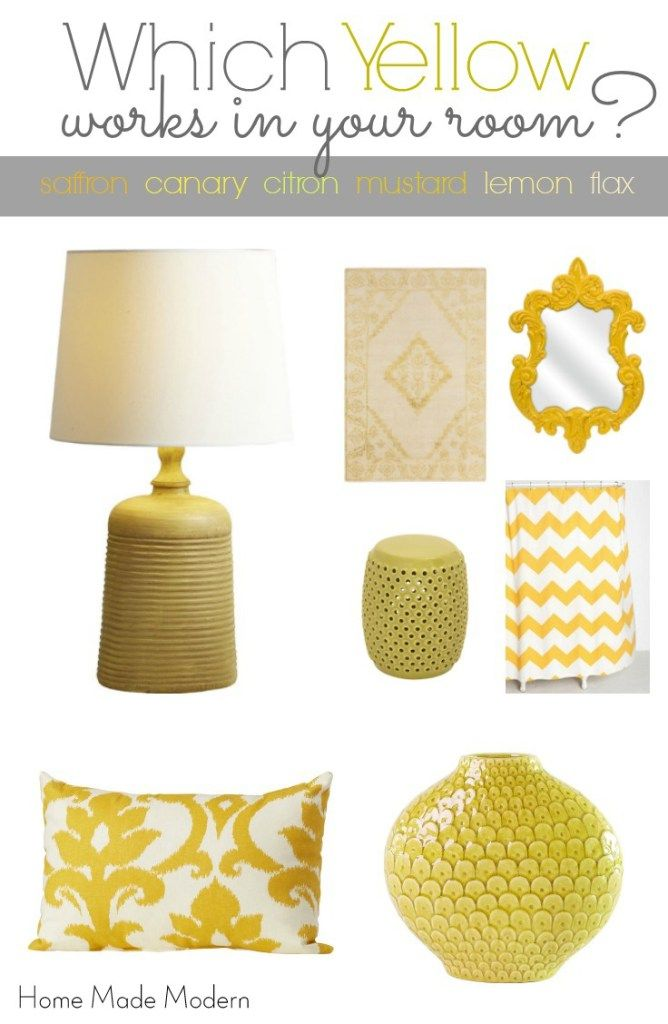 Choose The Best Yellow For Your Space With Images Yellow Home