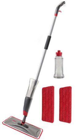 Amazon Com Rubbermaid Reveal Spray Mop Kit Fg1m1600gryrd