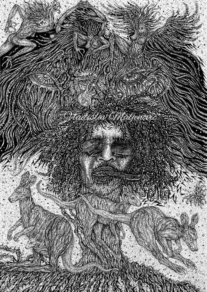 ''Aborigin's vision'' Artwork, Abstract artwork, Abstract