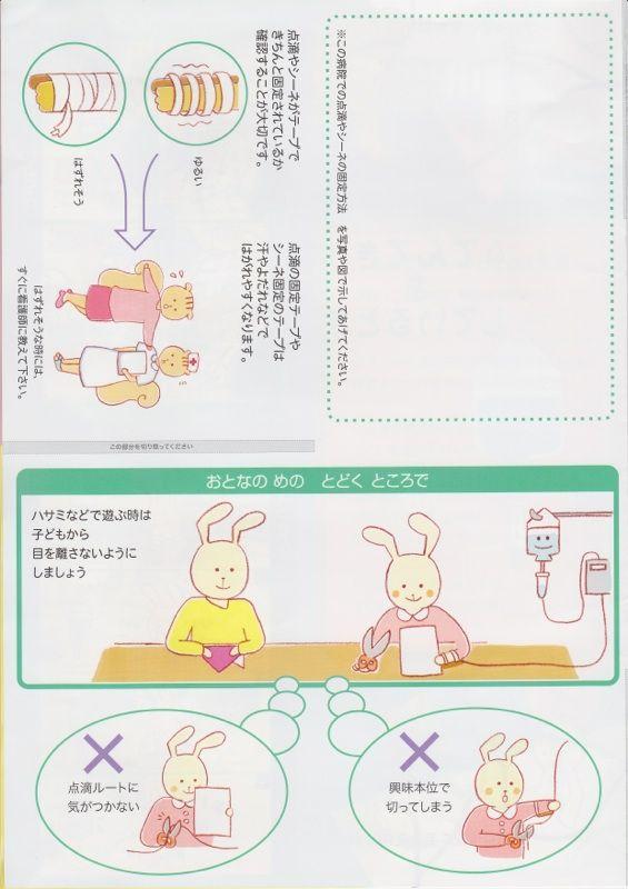 愛知県小児病棟パンフレット作成7