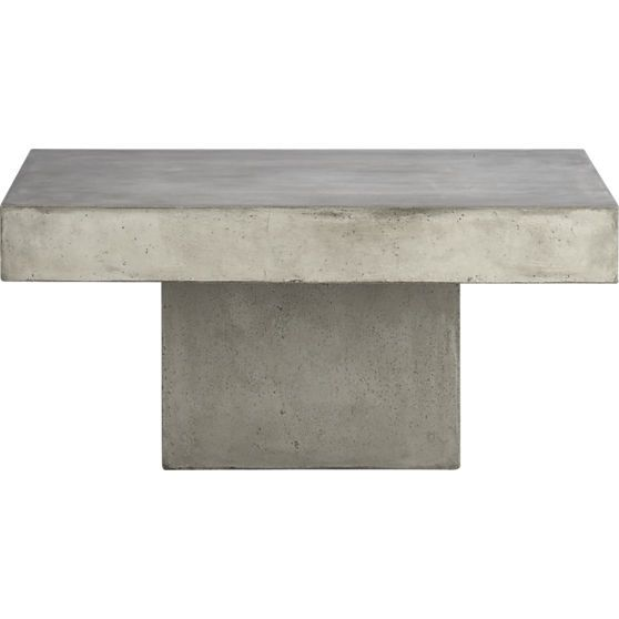 Element Coffee Table CB Oak Living Room Pinterest Tables - Cb2 cement table