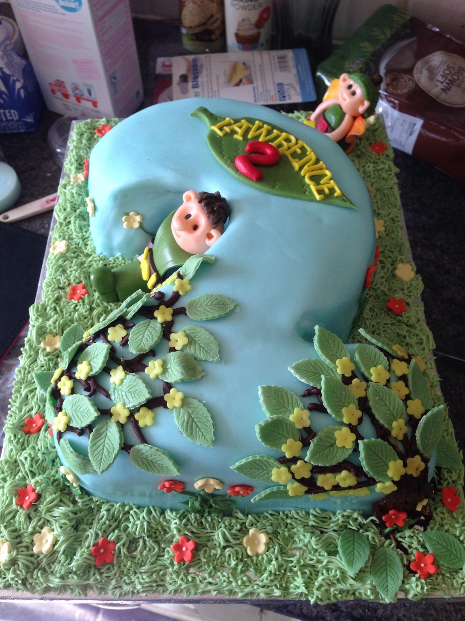 2nd Tree Fu Tom Birthday Cake Ideas Pinterest Tree Fu Tom