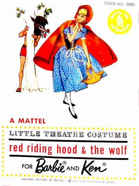 Catalogo 0880 traje para el  Little Theater Caperucita y el lobo