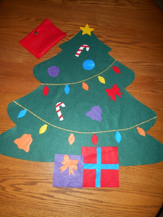 Felt Christmas Tree, BIGGEST SALE YET, Kid\u0027s Gift, Children Can