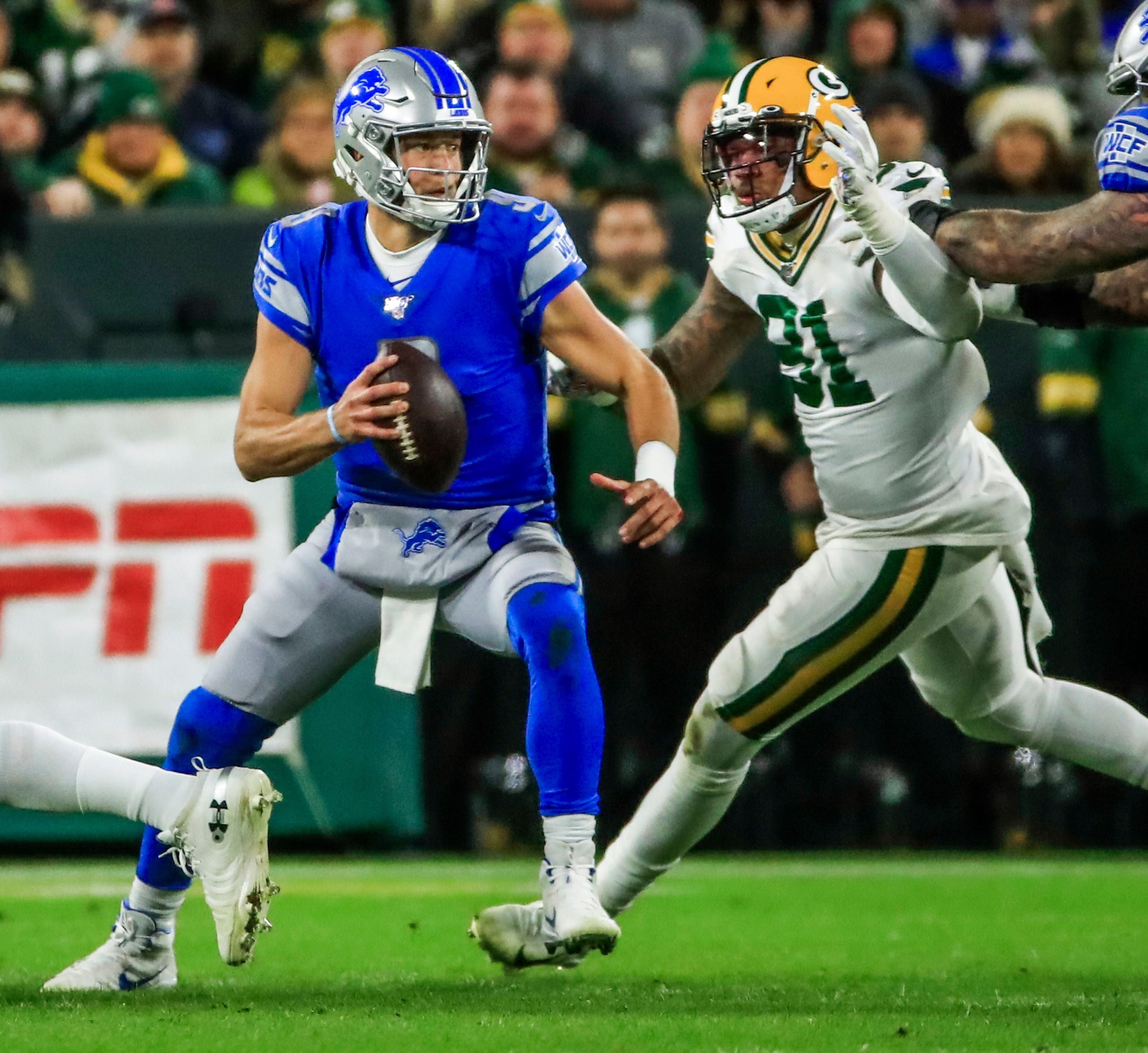 Hey Detroit Lions You Won T Beat Packers Aaron Rodgers And Refs With 5 Fgs Detroit Lions Green Bay Packers Aaron Rodgers Michigan Sports