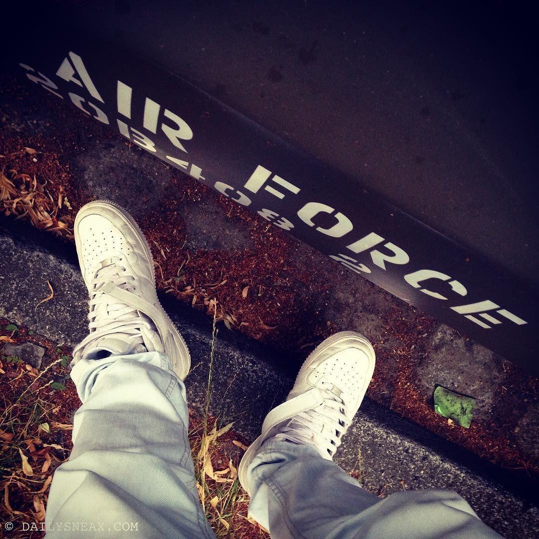 b4844402b0b Air Force Meeting wirh my white AFOs  nikeairforce  nikeairforce1 ...