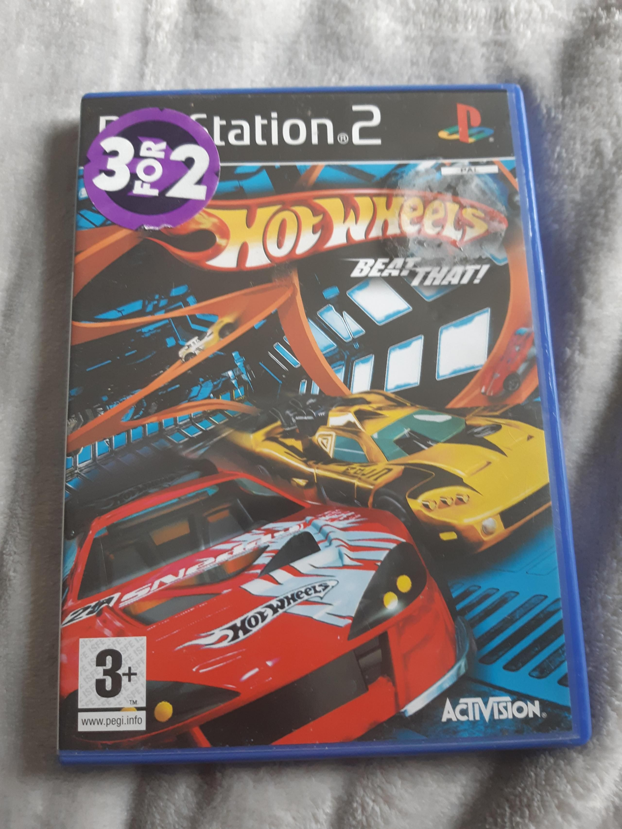 Ps2 Hotwheels Beat That Hot Wheels Activision Ps2 Games