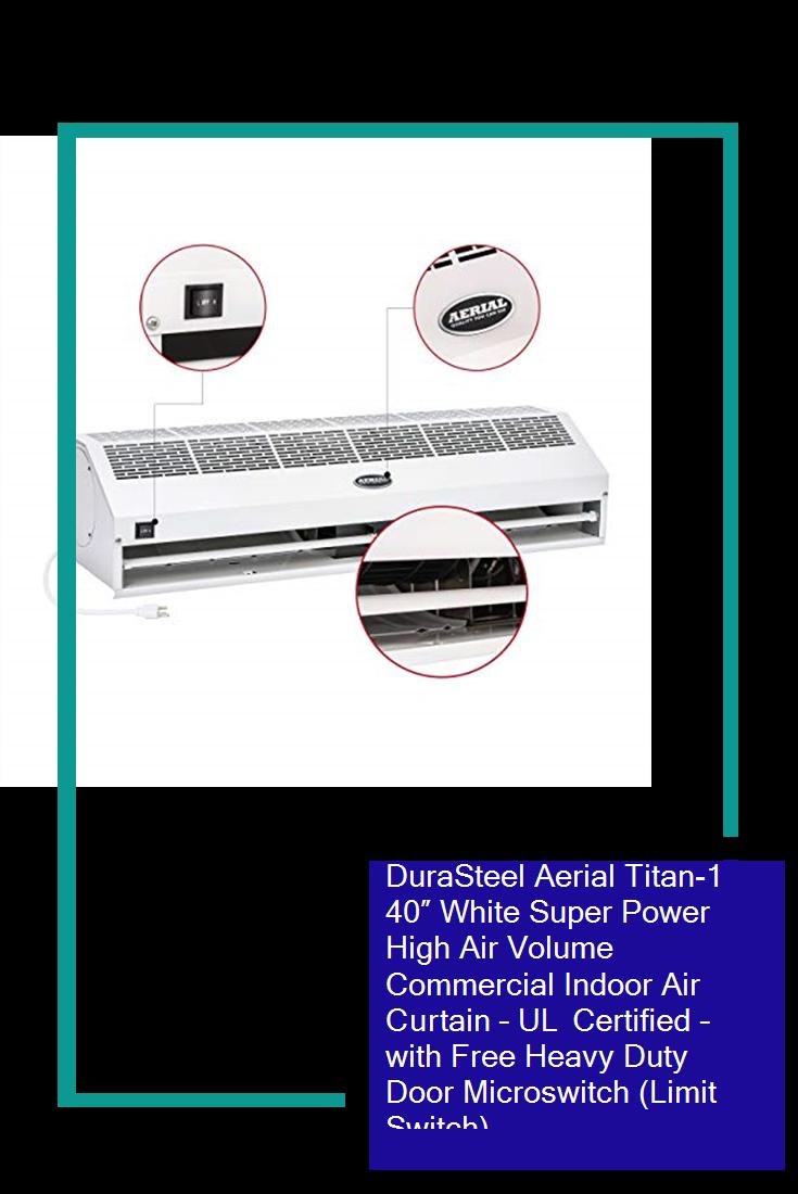 DuraSteel Aerial Titan1 40″ White Super Power High Air
