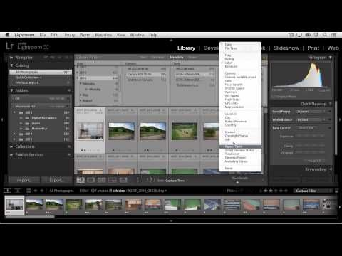 Lightroom CC – Using Filters to Quickly Find Photos « Julieanne Kost's Blog