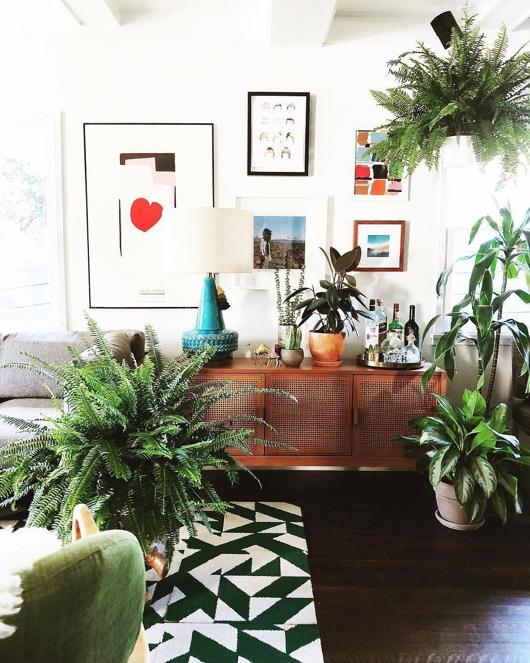 Use Twisted Spokes For Your Jungle Inspired Living Room Interior Design Never Looked So Modern Shop Fl Interior Paint Interior Paint Colors Living Room Paint Jungle living room ideas