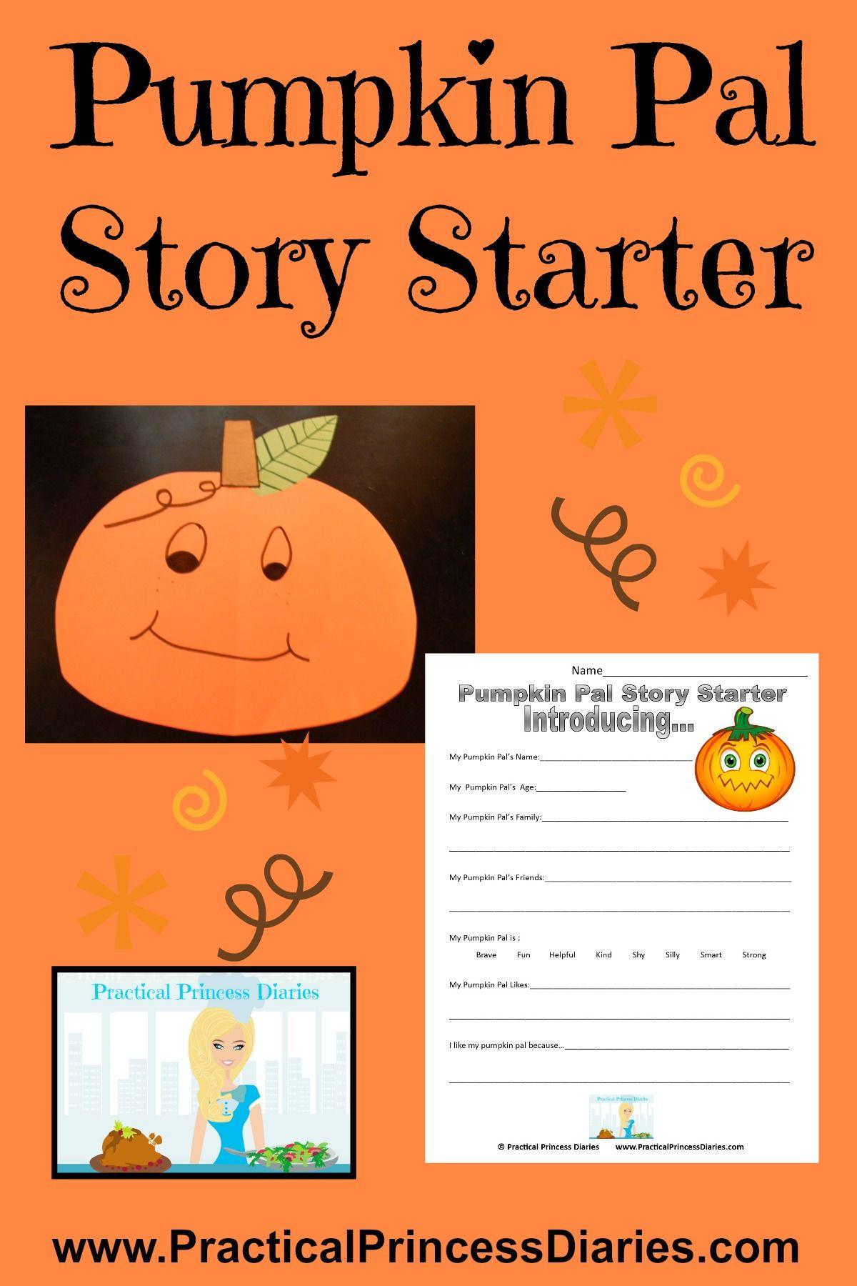 Practical Princess Diaries Pumpkin Pal Story Starter