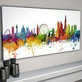 London Skyline Cityscape #Two