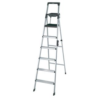 Cosco Signature Series 8 Foot Premium Aluminum Step Ladder Ladder Aluminium Ladder Pool Ladder