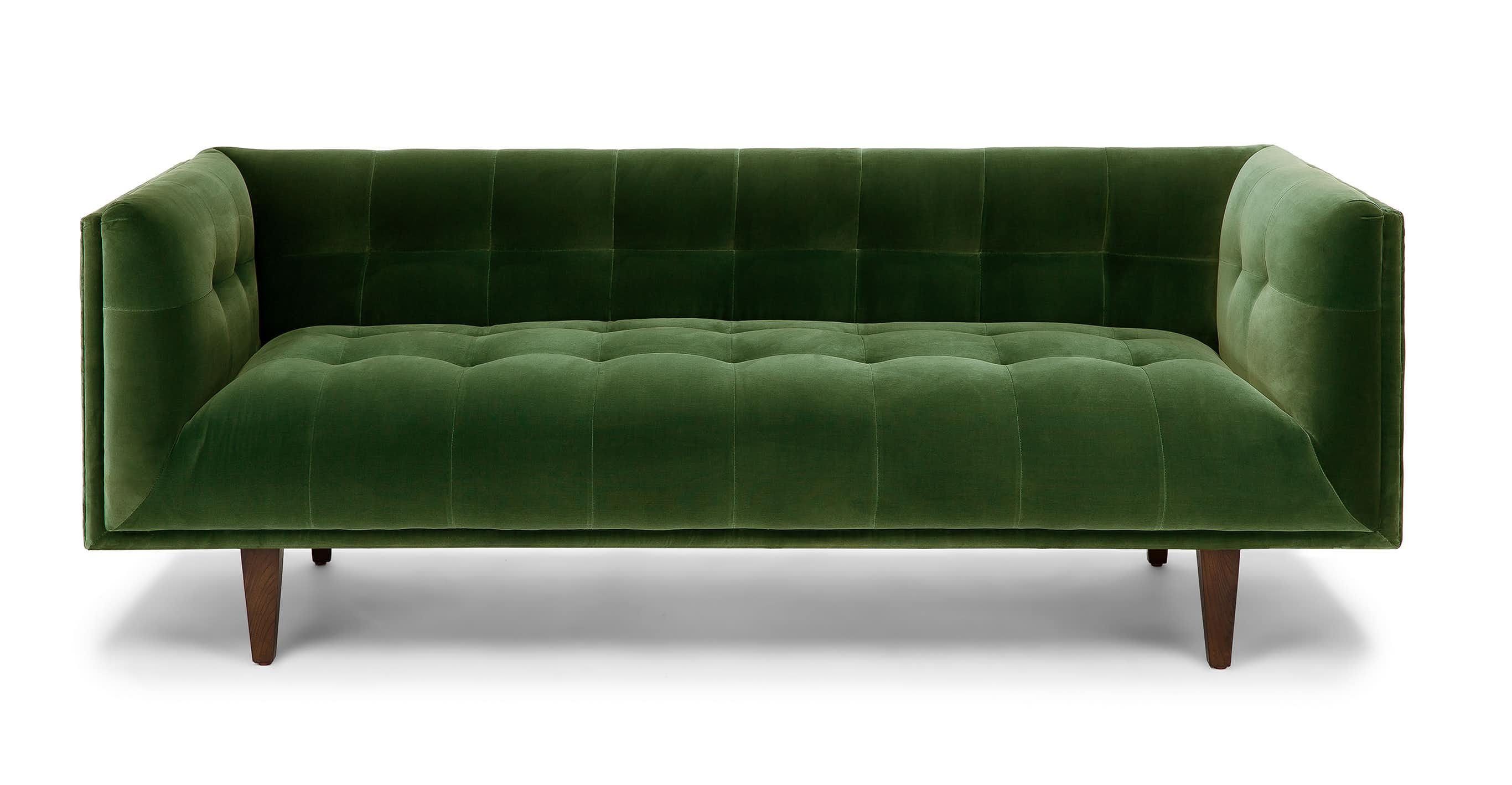 The Cirrus Sofas Deep Tufted Benchseat Keeps Things Springy With